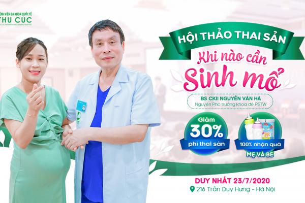 Bệnh viện Thu Cúc tặng miễn phí gói đẻ: Tiếp sức cho mẹ bầu chuẩn bị vượt cạn