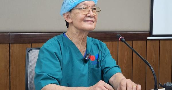 GS.BS Trần Đông A - cố vấn ca phẫu thuật tách hai bé song sinh dính liền xúc động chia sẻ về ca đại phẫu: