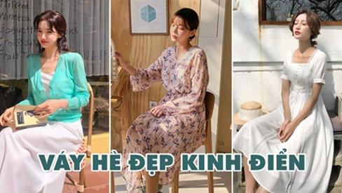 """5 mẫu váy hè đẹp kinh điển, """"diện tới diện lui"""" cũng không lỗi mốt"""