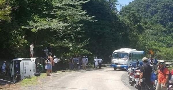 Tai nạn giao thông cực kỳ nghiêm trọng trên đường Hồ Chí Minh, đã có 8 người tử vong