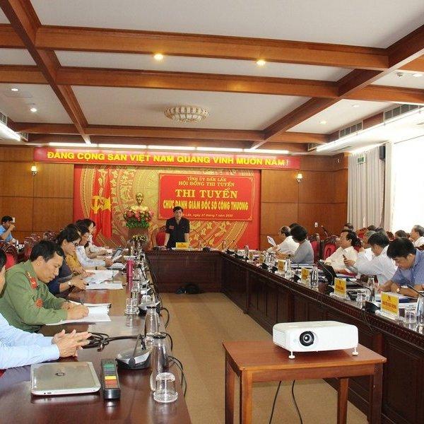 Tỉnh Đắk Lắk tổ chức thi tuyển Giám đốc sở Công thương