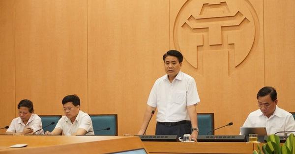 """Chủ tịch Nguyễn Đức Chung: """"Đến 12/8, nếu kiểm soát tốt thì Hà Nội sẽ yên tâm"""""""