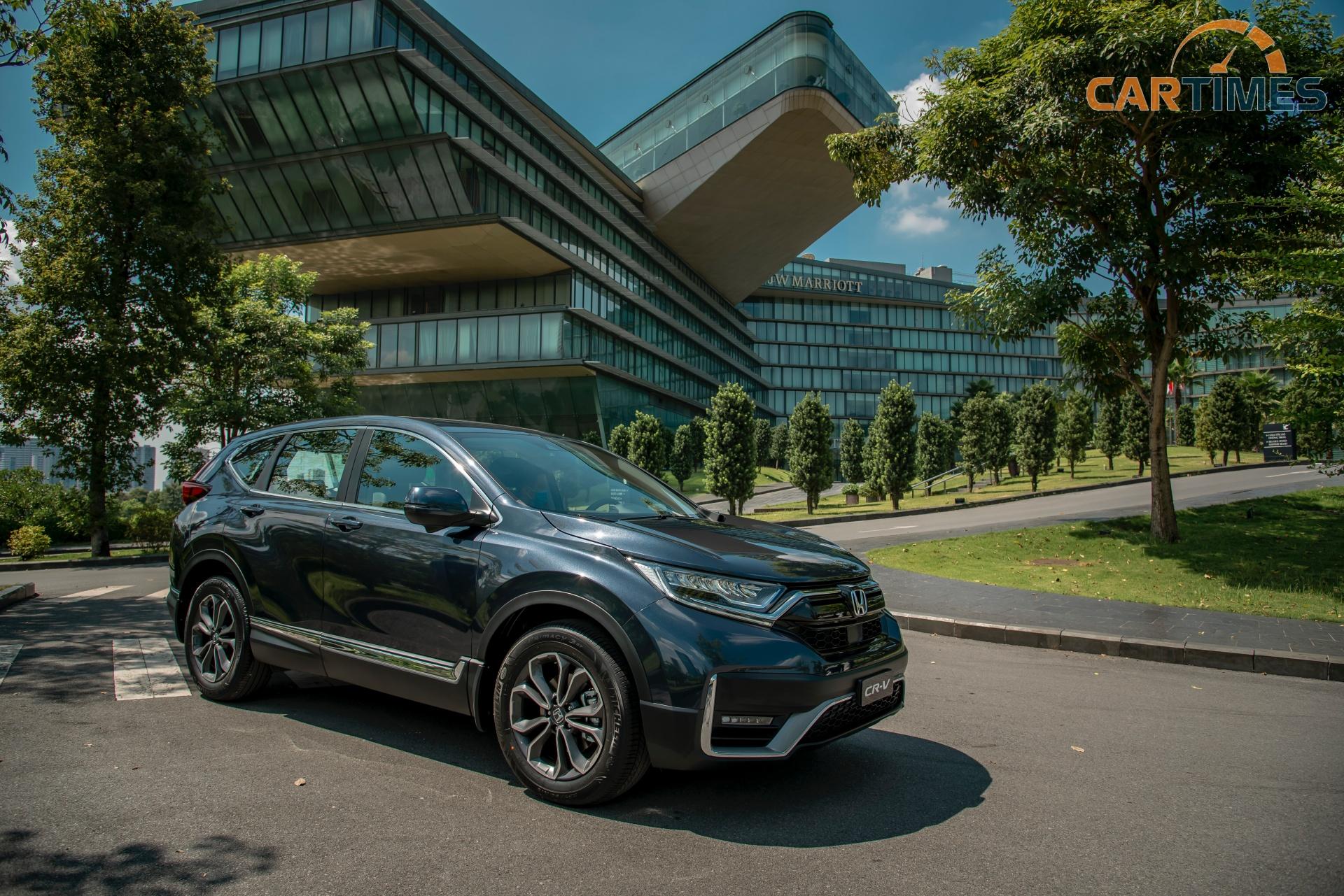 Cận cảnh mẫu xe CR-V 2020, công nghệ Honda Sensing là điểm nhấn