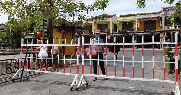 Hội An phong tỏa khối phố có hơn 2.000 dân