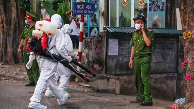Lịch trình dày dặc của BN COVID-19 459 tại Hà Nội