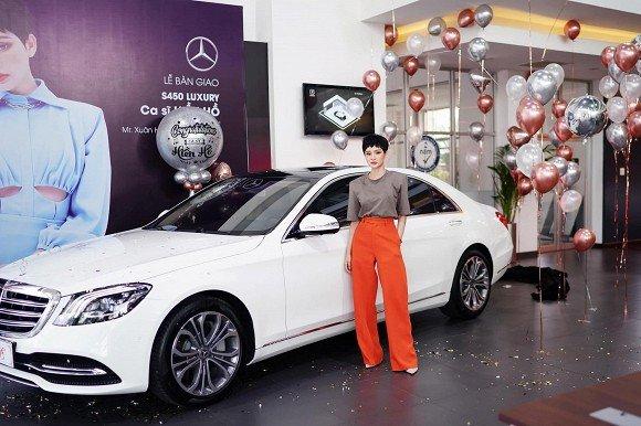 Bóc giá Mercedes-Benz tiền tỷ ca sĩ Hiền Hồ vừa tậu ở tuổi 23