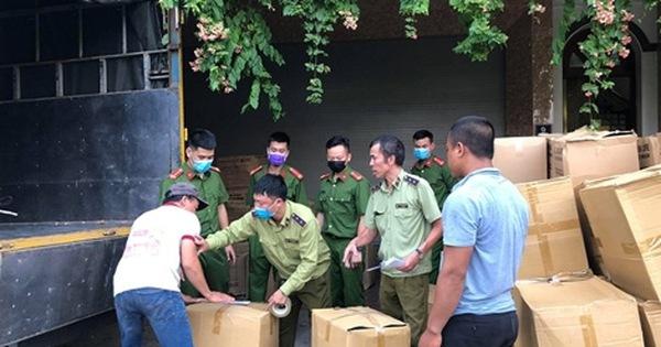 Hà Đông (Hà Nội): Thu giữ hơn 800 nghìn khẩu trang không nguồn gốc xuất xứ