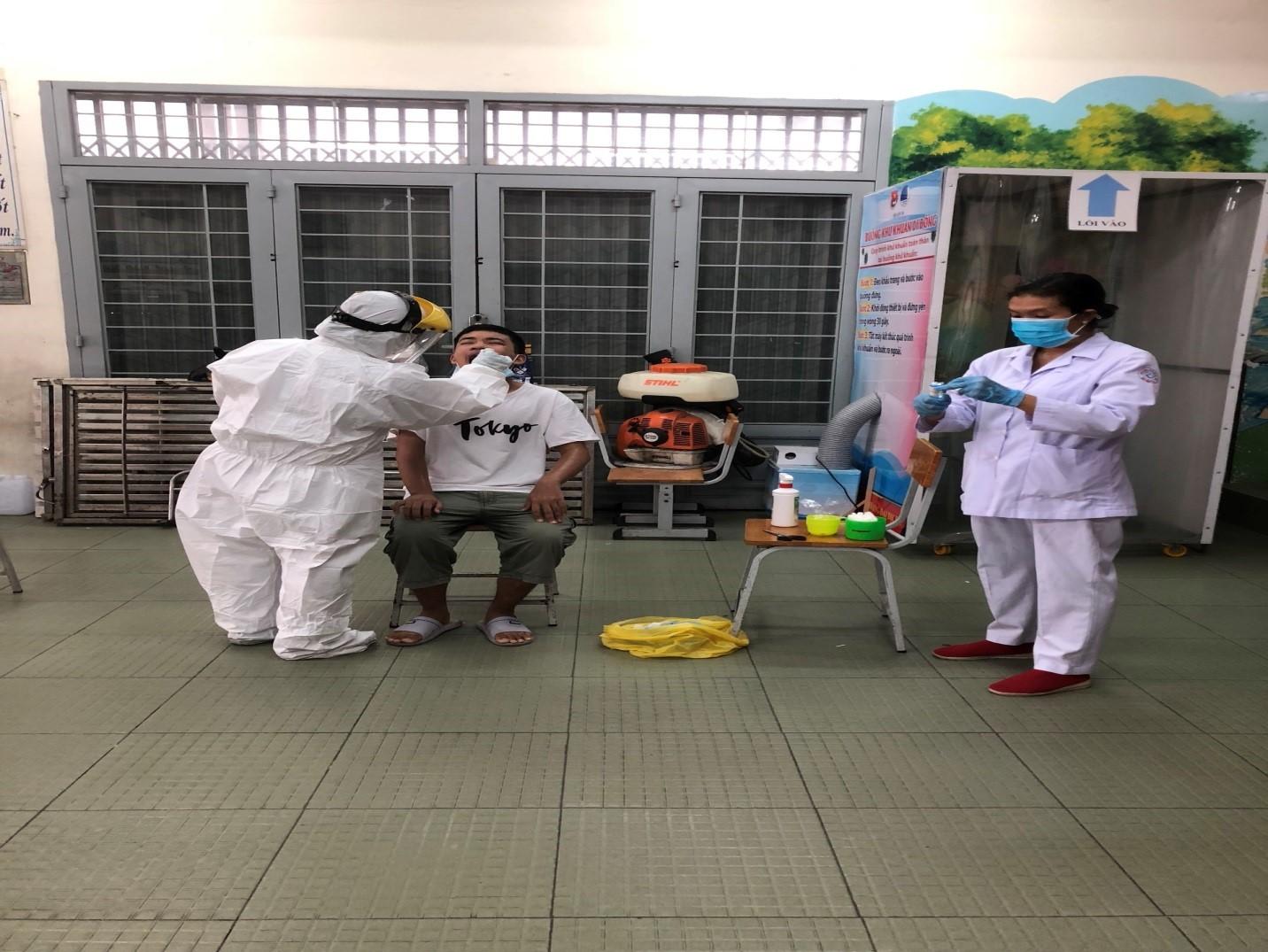 TP.HCM: Hơn 22 nghìn người từ Đà Nẵng về đã khai báo y tế-1