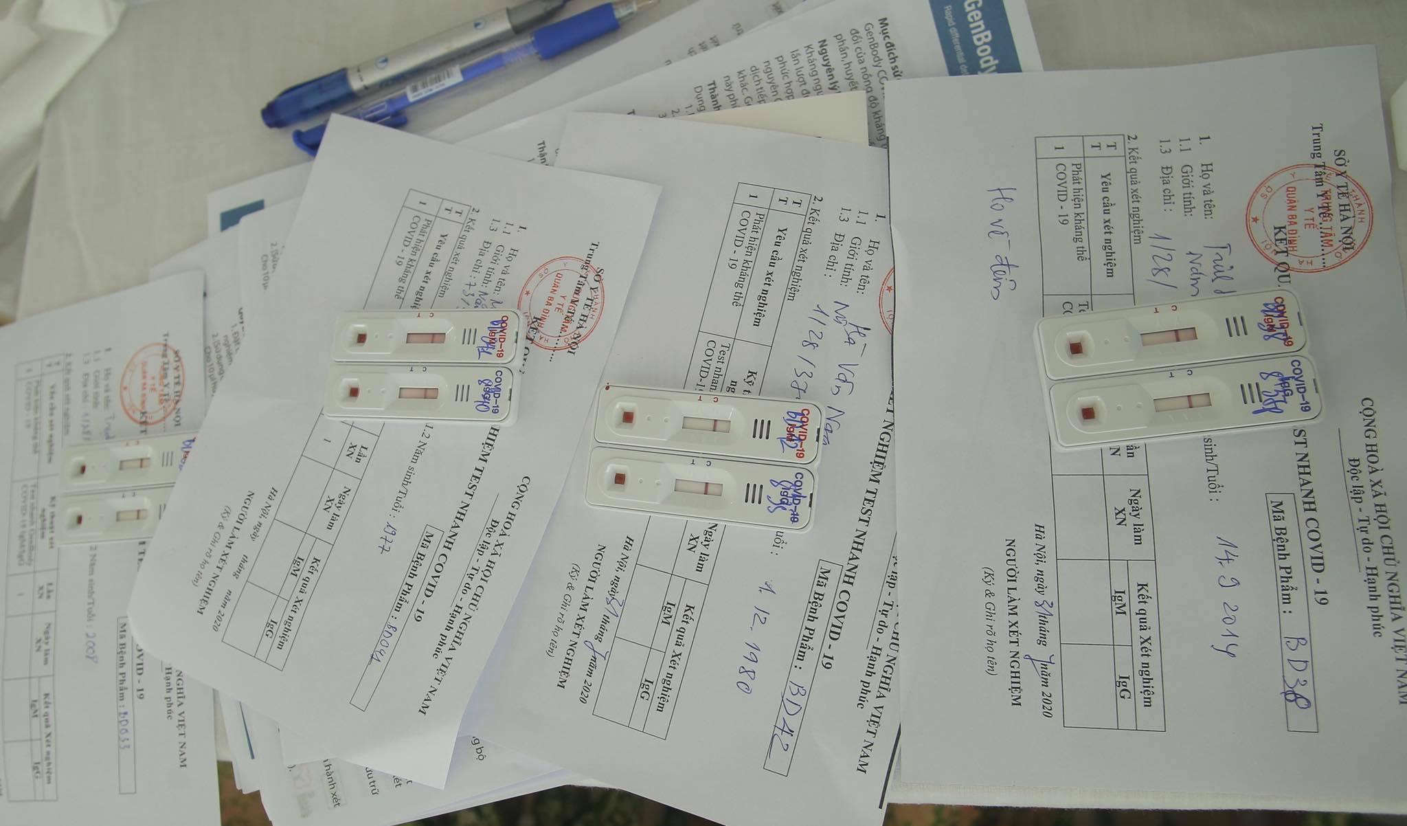 Hà Nội: Quận Ba Đình xét nghiệm nhanh Covid-19 cho gần 1.600 người về từ Đà Nẵng-7