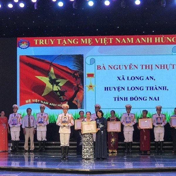 Phó Chủ tịch nước Đặng Thị Ngọc Thịnh thăm và làm việc tại Đồng Nai
