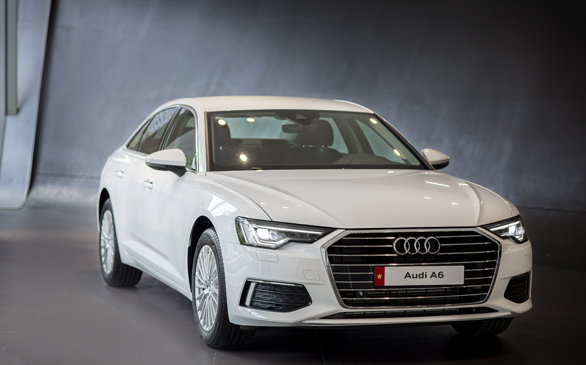 Audi A6 mới đã có mặt tại Việt Nam, vô số công nghệ mới