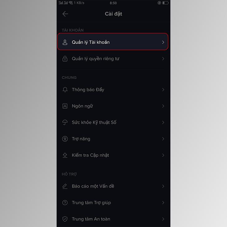 Hướng dẫn cách xóa vĩnh viễn tài khoản TikTok nhanh chóng, dễ dàng-2