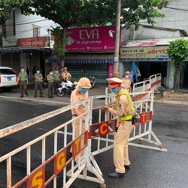 TP. Đà Nẵng: Thiết lập 8 chốt kiểm soát, ngăn chặn người ra vào