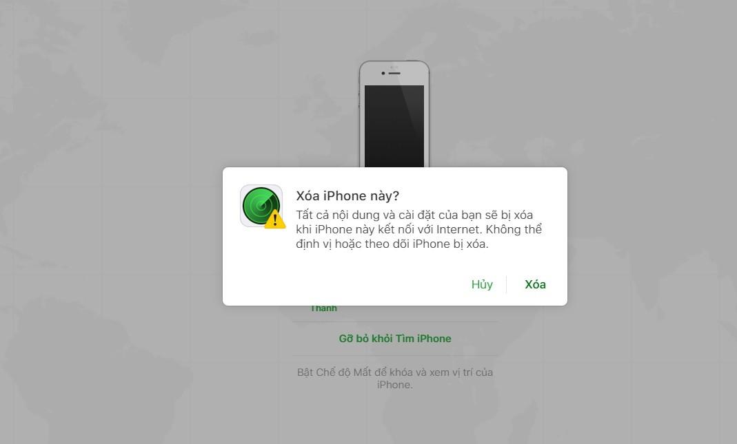 Hướng dẫn cách khắc phục iPhone bị vô hiệu hóa khi nhập sai mật khẩu-4