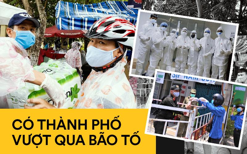Nhìn những hình ảnh này mới thấy Đà Nẵng đang chung sức, đồng lòng chống dịch Covid-19 với quyết tâm cao như thế nào!