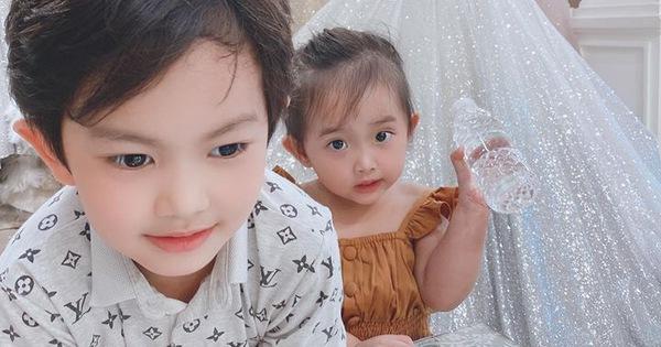 Khánh Thi khoe khoảnh khắc hiếm hoi 2 nhóc ngọt ngào, nhưng ai cũng xuýt xoa vì hành động của Anna: Đúng chuẩn con nhà nòi!