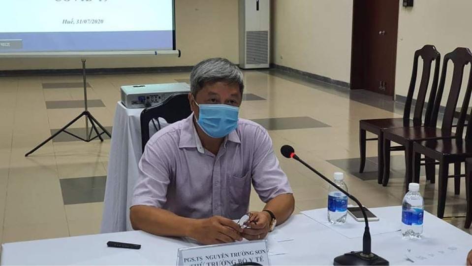 Thứ trưởng bộ Y tế bắt đầu chỉ đạo chống dịch Covid-19 tại miền Trung-2
