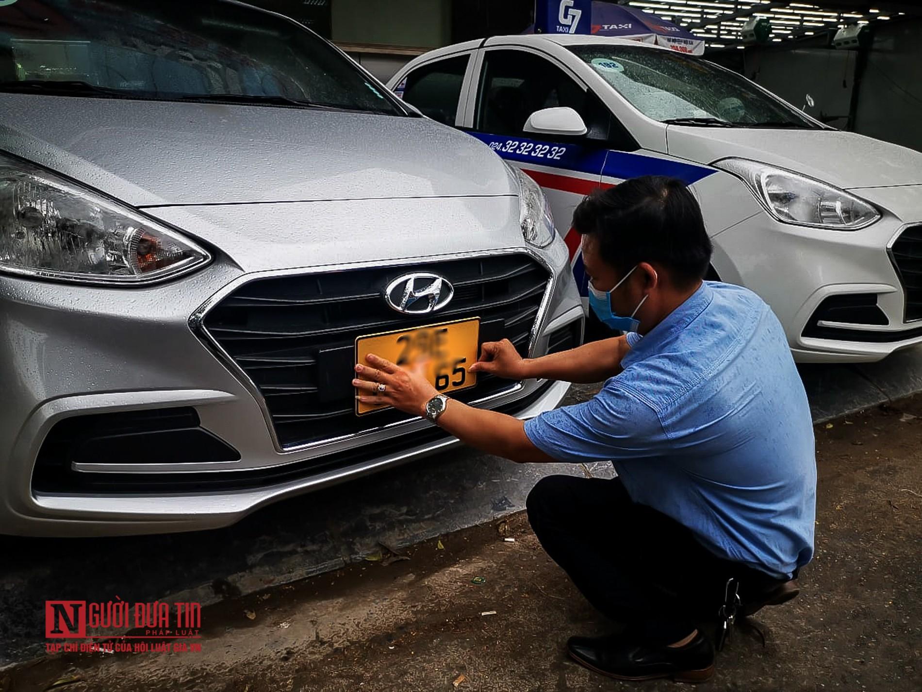 Lộ diện biển số màu vàng cho xe ô tô kinh doanh dịch vụ-8