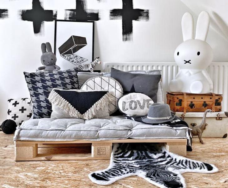 Gợi ý 10 kiểu giường pallet vừa rẻ vừa xinh phù hợp với mọi loại phòng ngủ-1
