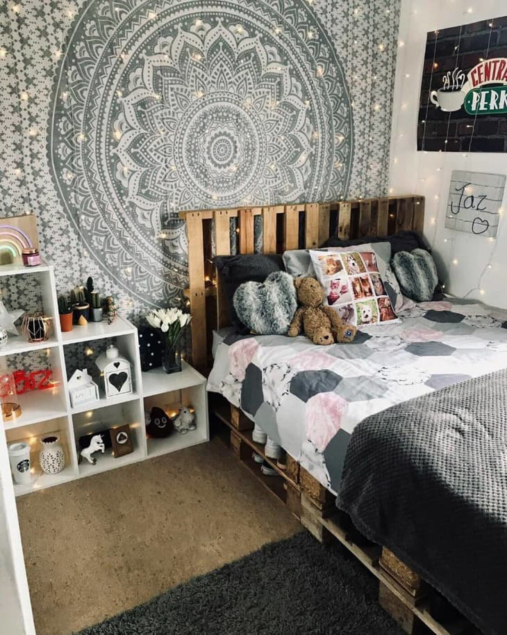 Gợi ý 10 kiểu giường pallet vừa rẻ vừa xinh phù hợp với mọi loại phòng ngủ-7