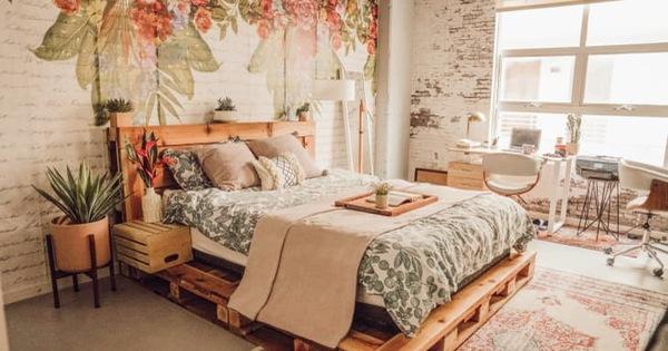 Gợi ý 10 kiểu giường pallet vừa rẻ vừa xinh phù hợp với mọi loại phòng ngủ