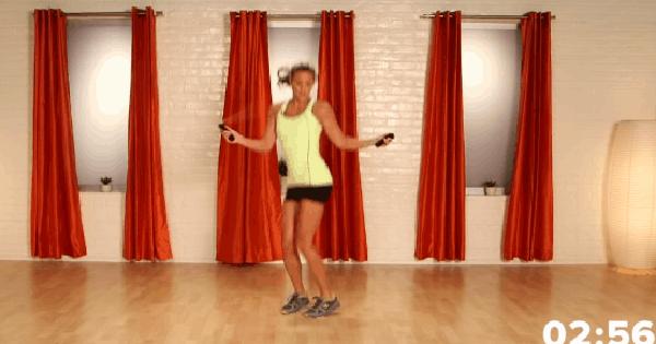 HLV chia sẻ loạt bài tập nhảy dây chỉ mất đúng 10 phút/ngày để thực hiện mà bụng phẳng, chân thon hẳn