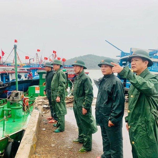Nghệ An: Ra công điện khẩn về công tác ứng phó với bão số 2