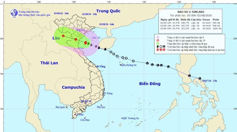 Nghệ An: Ra công điện khẩn về công tác ứng phó với bão số 2-1