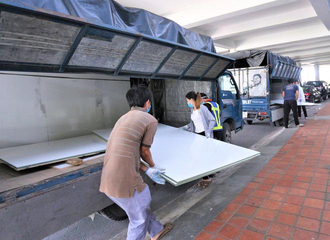 Cận cảnh bên trong Bệnh viện dã chiến chống Covid-19 đầu tiên tại Đà Nẵng-7