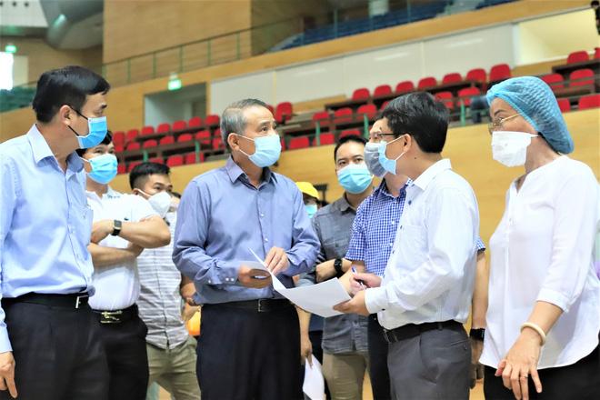 Cận cảnh bên trong Bệnh viện dã chiến chống Covid-19 đầu tiên tại Đà Nẵng-2