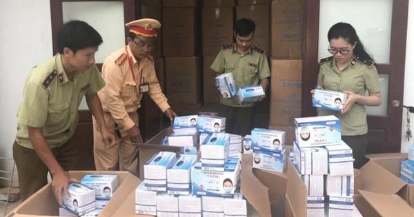 Quảng Bình: Phát hiện gần 1 triệu khẩu trang y tế không rõ nguồn gốc