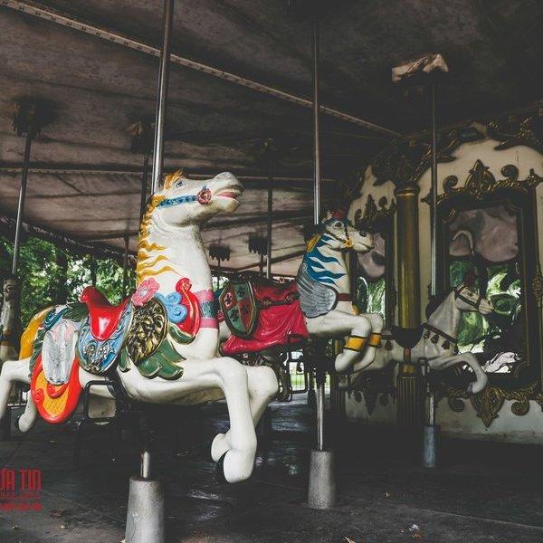 Hà Nội: Xót xa những hạng mục vui chơi cho trẻ xuống cấp, hư hỏng tại công viên Thống Nhất