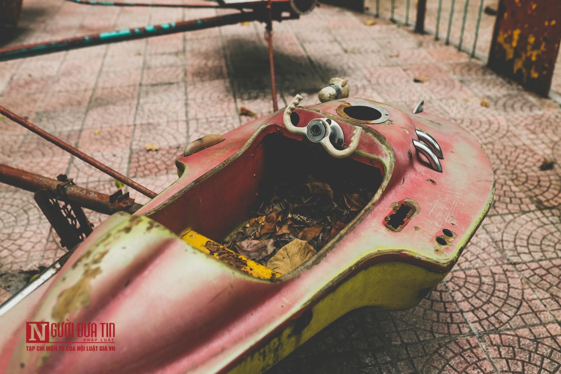Hà Nội: Xót xa những hạng mục vui chơi cho trẻ xuống cấp, hư hỏng tại công viên Thống Nhất-5