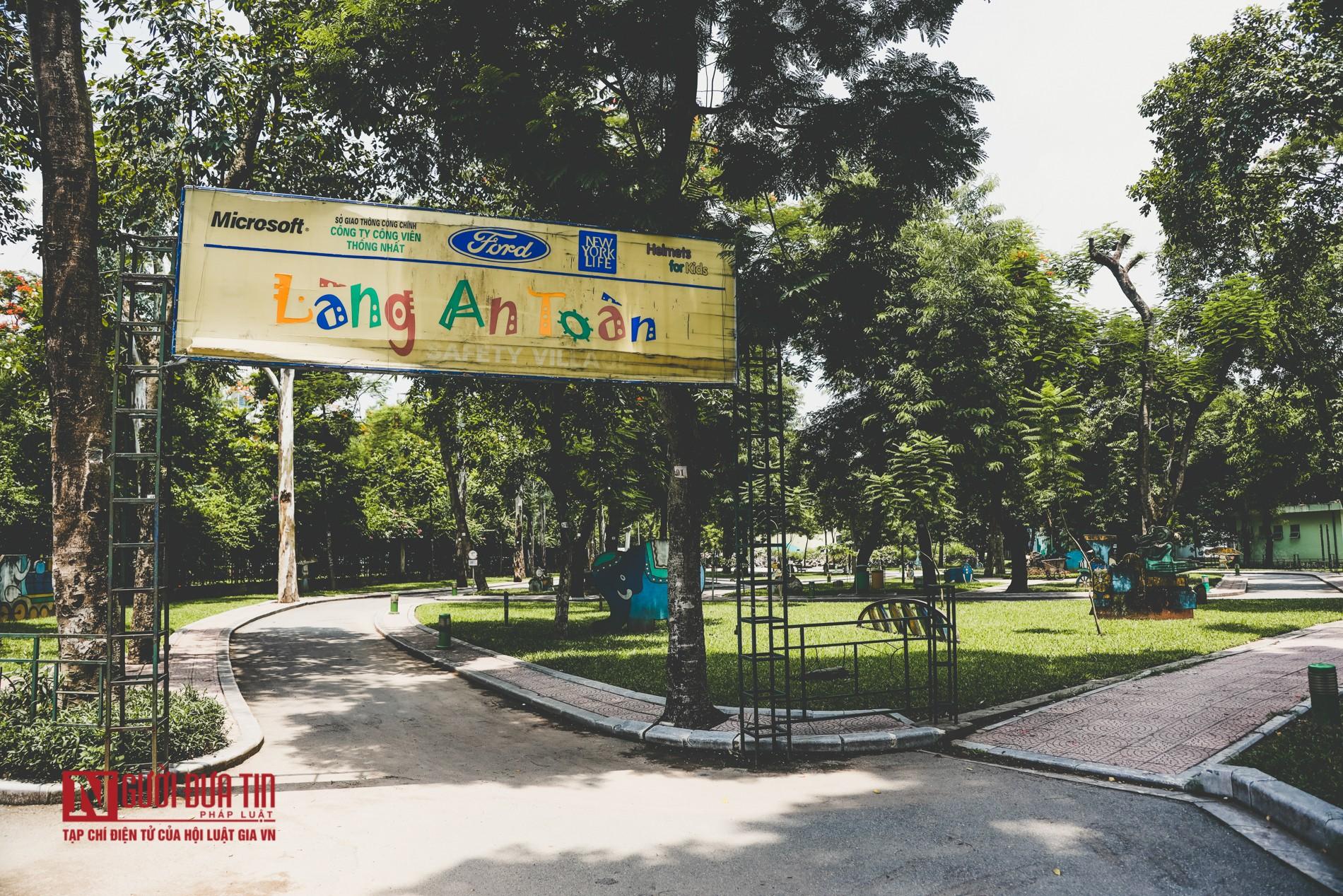 Hà Nội: Xót xa những hạng mục vui chơi cho trẻ xuống cấp, hư hỏng tại công viên Thống Nhất-9