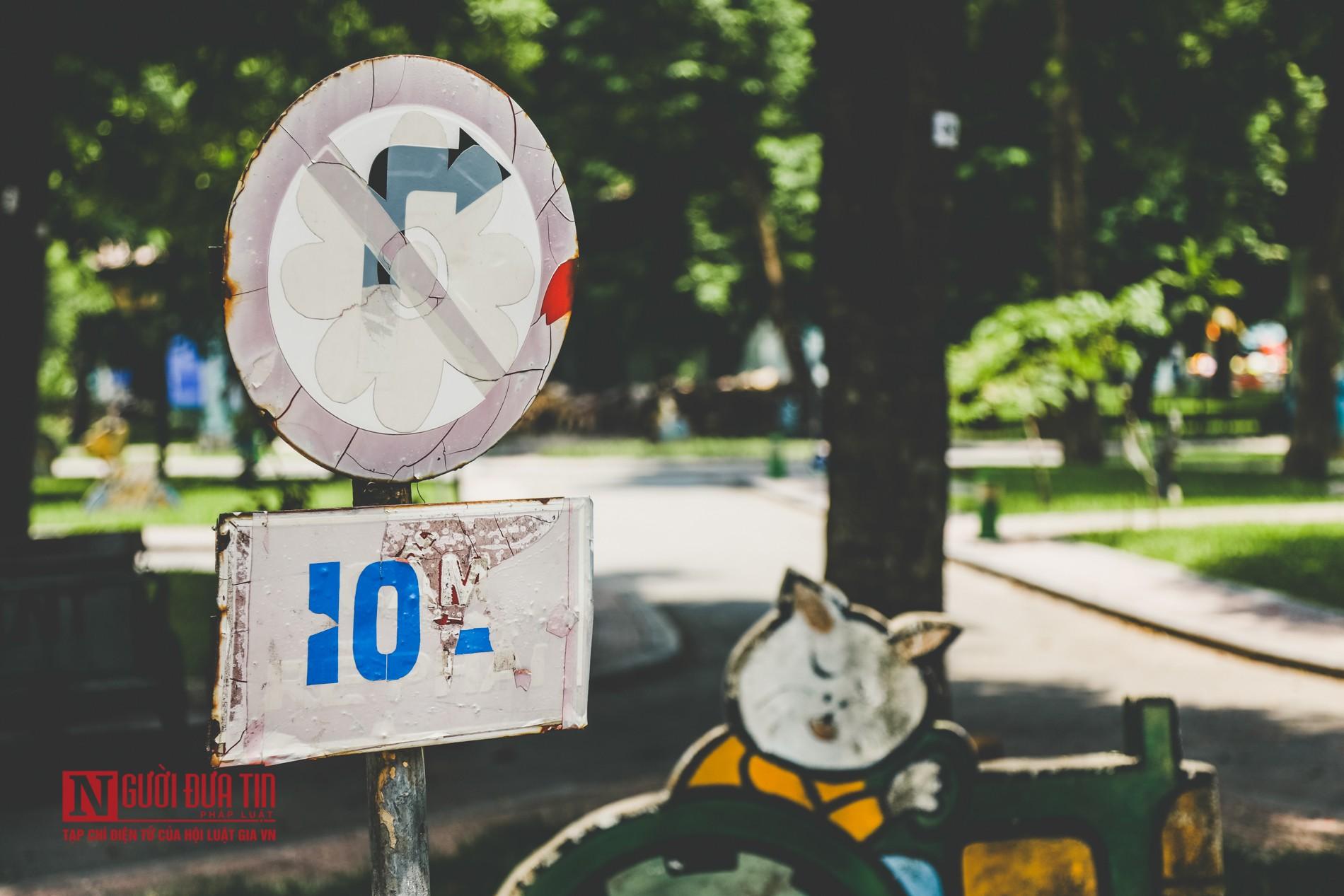 Hà Nội: Xót xa những hạng mục vui chơi cho trẻ xuống cấp, hư hỏng tại công viên Thống Nhất-10