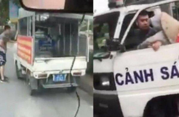 Vụ công an phường mặc quần đùi áo cộc lái xe biển xanh đi xử lý vi phạm: Trần tình của người bán hàng rong
