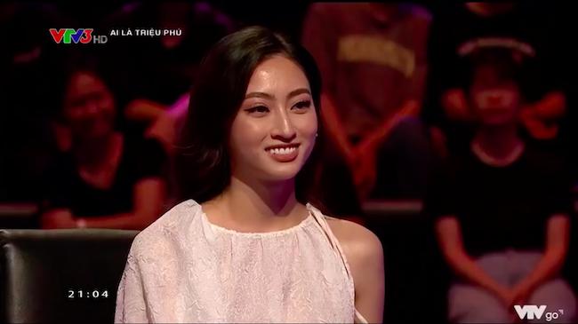 Lương Thuỳ Linh sợ trả lời sai câu hỏi về Hoa hậu ở 'Ai là triệu phú'