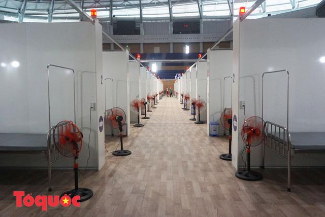 [Ảnh] Bên trong bệnh viện dã chiến lớn nhất Đà Nẵng dùng đối phó dịch Covid-19-13