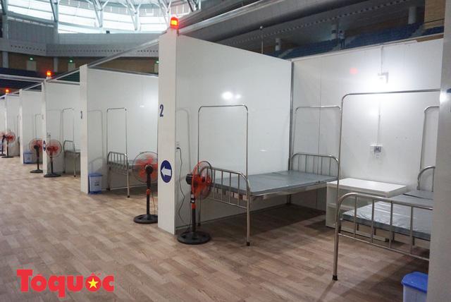 [Ảnh] Bên trong bệnh viện dã chiến lớn nhất Đà Nẵng dùng đối phó dịch Covid-19-14