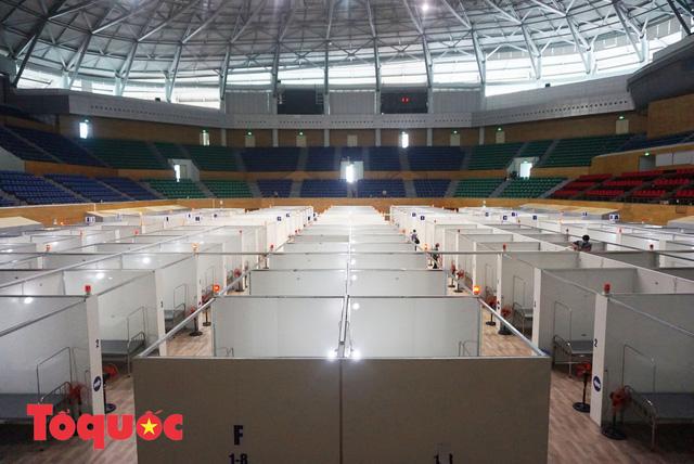 [Ảnh] Bên trong bệnh viện dã chiến lớn nhất Đà Nẵng dùng đối phó dịch Covid-19-8