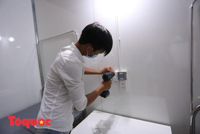 [Ảnh] Bên trong bệnh viện dã chiến lớn nhất Đà Nẵng dùng đối phó dịch Covid-19-11