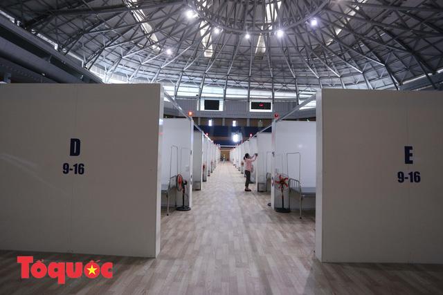 [Ảnh] Bên trong bệnh viện dã chiến lớn nhất Đà Nẵng dùng đối phó dịch Covid-19-3