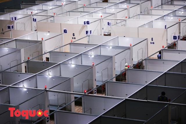 [Ảnh] Bên trong bệnh viện dã chiến lớn nhất Đà Nẵng dùng đối phó dịch Covid-19-4
