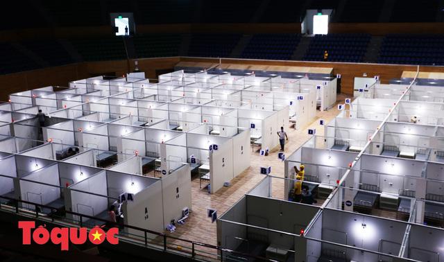 [Ảnh] Bên trong bệnh viện dã chiến lớn nhất Đà Nẵng dùng đối phó dịch Covid-19-5