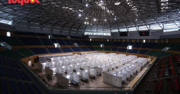 [Ảnh] Bên trong bệnh viện dã chiến lớn nhất Đà Nẵng dùng đối phó dịch Covid-19