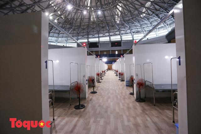[Ảnh] Bên trong bệnh viện dã chiến lớn nhất Đà Nẵng dùng đối phó dịch Covid-19-6