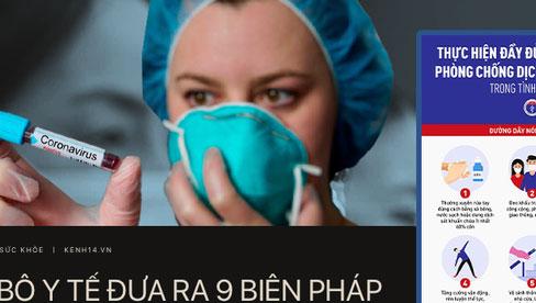 Một số khuyến cáo của Bộ Y tế về phòng chống dịch Covid-19 trong tình hình mới
