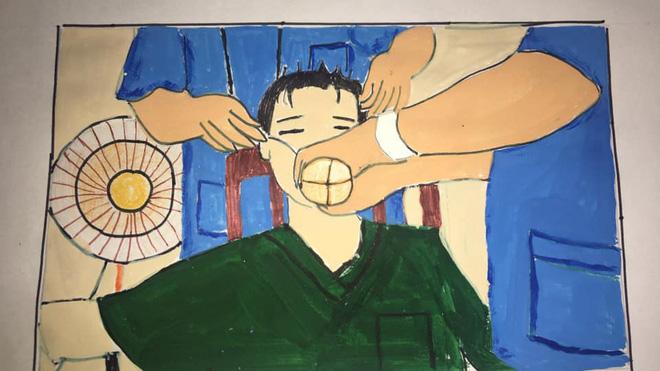 Không thể đưa con đi du lịch vì dịch Covid, gia đình mở cuộc thi vẽ tranh, tác phẩm nhận được mới bất ngờ-16