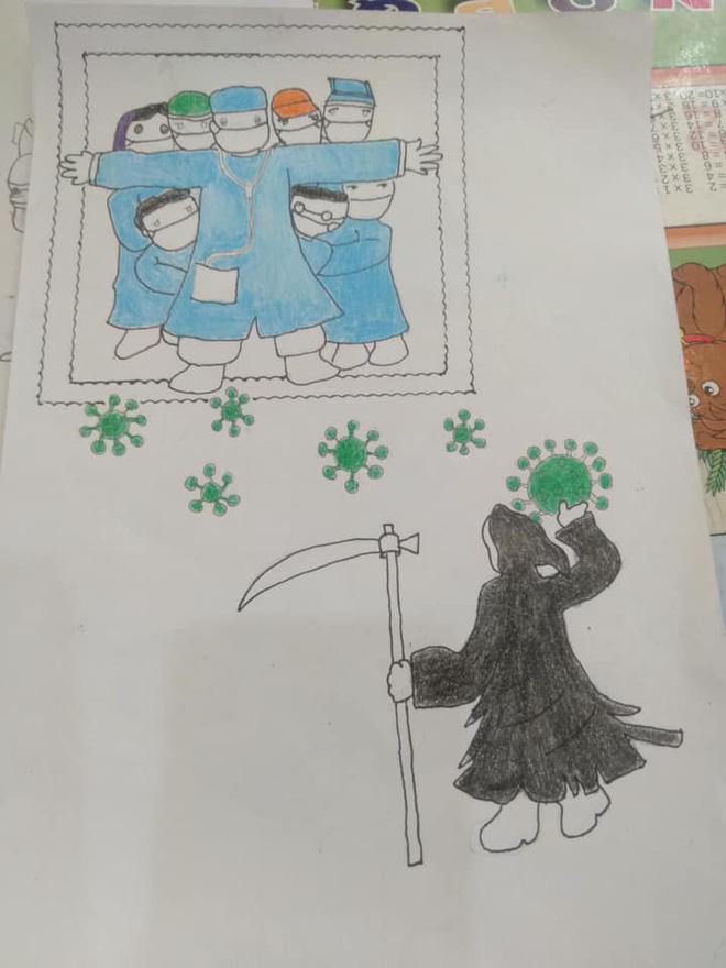 Không thể đưa con đi du lịch vì dịch Covid, gia đình mở cuộc thi vẽ tranh, tác phẩm nhận được mới bất ngờ-9