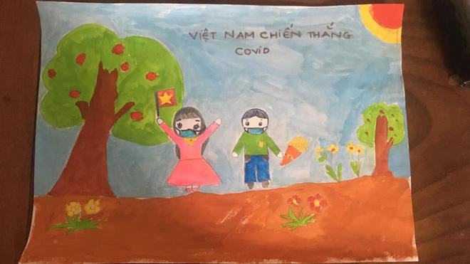 Không thể đưa con đi du lịch vì dịch Covid, gia đình mở cuộc thi vẽ tranh, tác phẩm nhận được mới bất ngờ-3